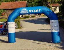 Start- bzw. Zielbogen